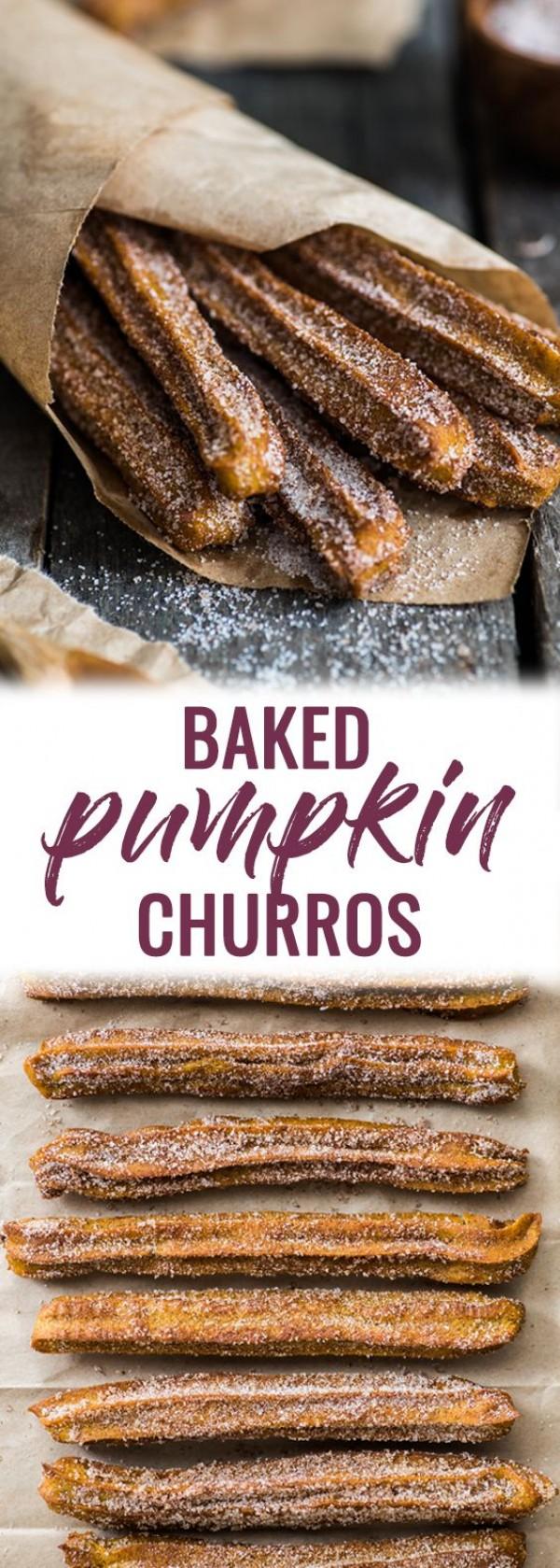 Get the recipe Baked Pumpkin Churros @recipes_to_go