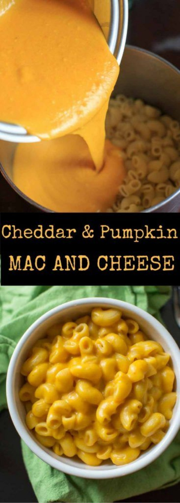 Get the recipe Cheddar and Pumpkin Mac and Cheese @recipes_to_go