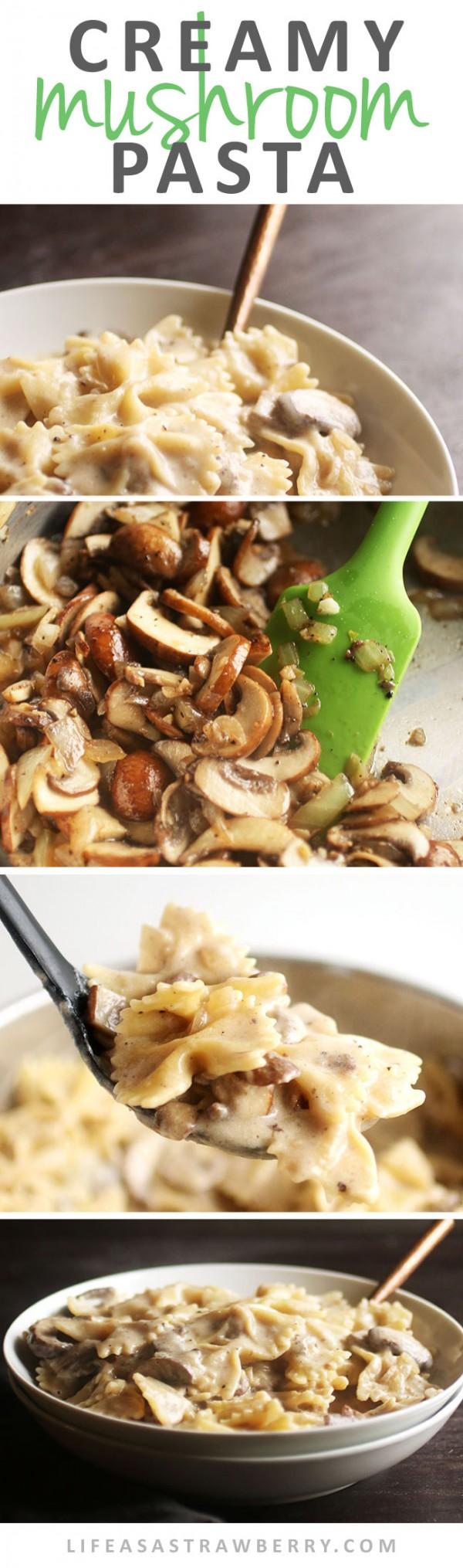 Get the recipe Creamy Mushroom Pasta @recipes_to_go