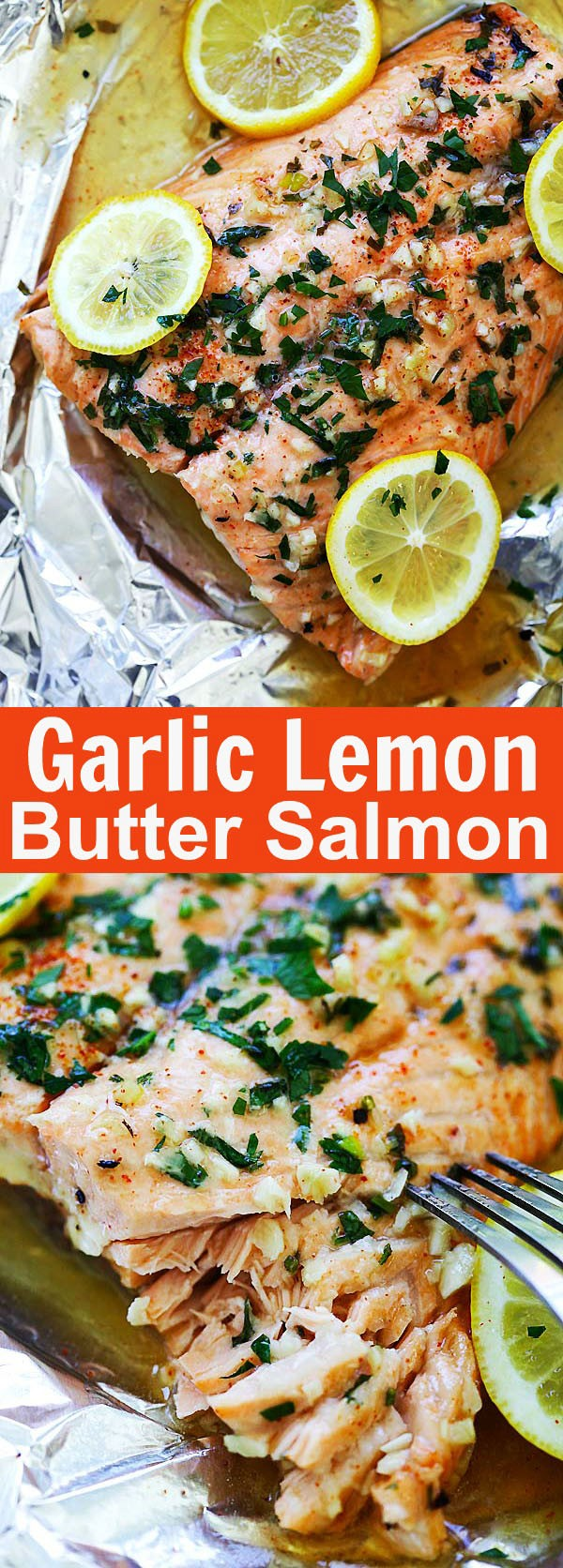 Get the recipe Garlic Lemon Butter Salmon @recipes_to_go