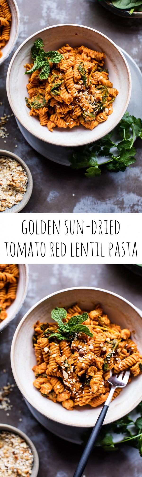 Get the recipe Sun-Dried Tomato Red Lentil Pasta @recipes_to_go