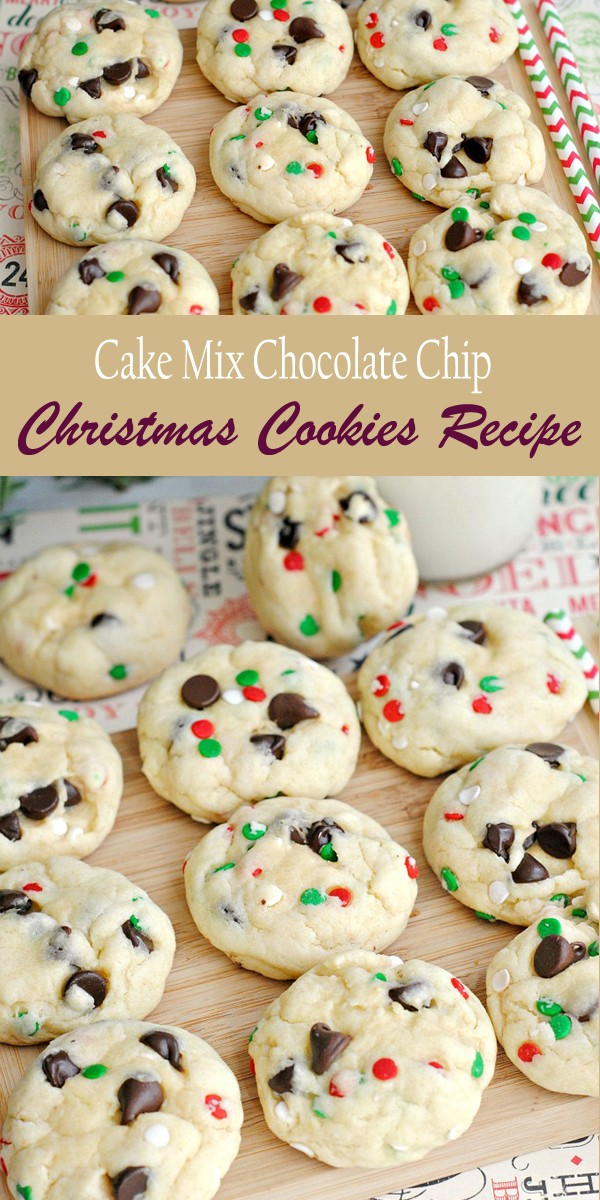 Get the recipe Chocolate Chip Christmas Cookies @recipes_to_go