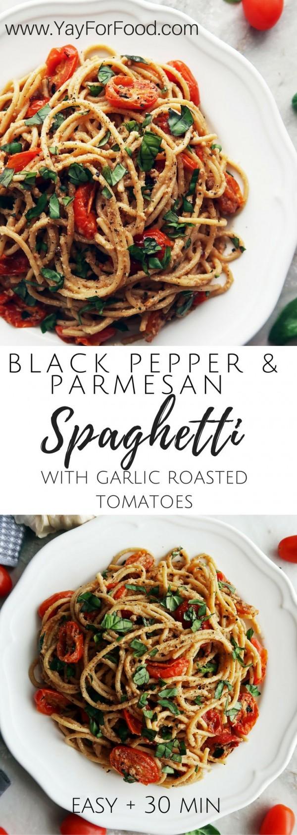 Get the recipe Black Pepper and Parmesan Spaghetti @recipes_to_go