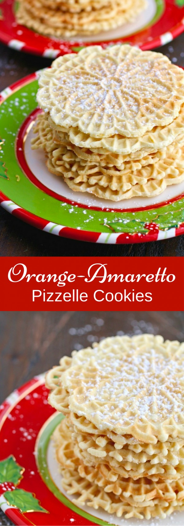 Get the recipe Orange-Amaretto Pizzelle Cookies @recipes_to_go