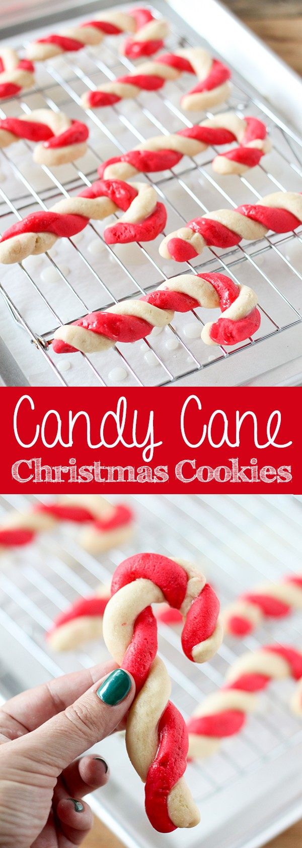 Get the recipe Candy Cane Christmas Cookies @recipes_to_go