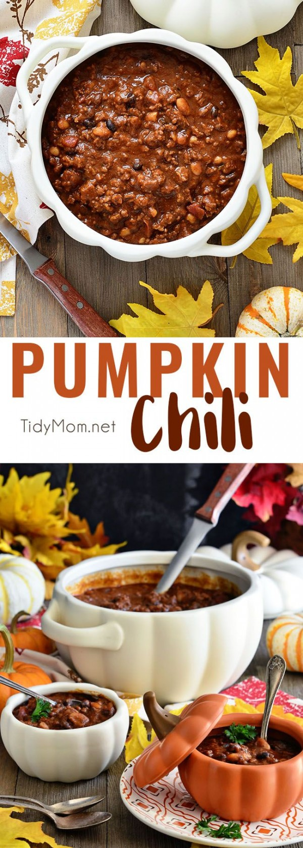 Get the recipe Pumpkin Chili @recipes_to_go