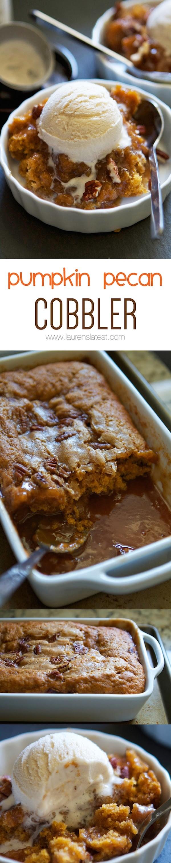 Get the recipe Pumpkin Pecan Cobbler @recipes_to_go