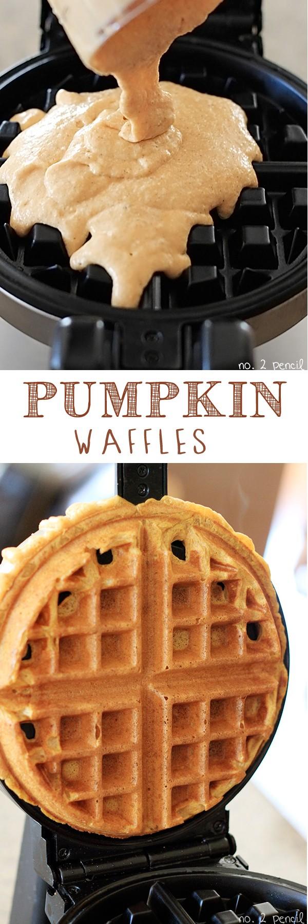 Get the recipe Pumpkin Waffles @recipes_to_go