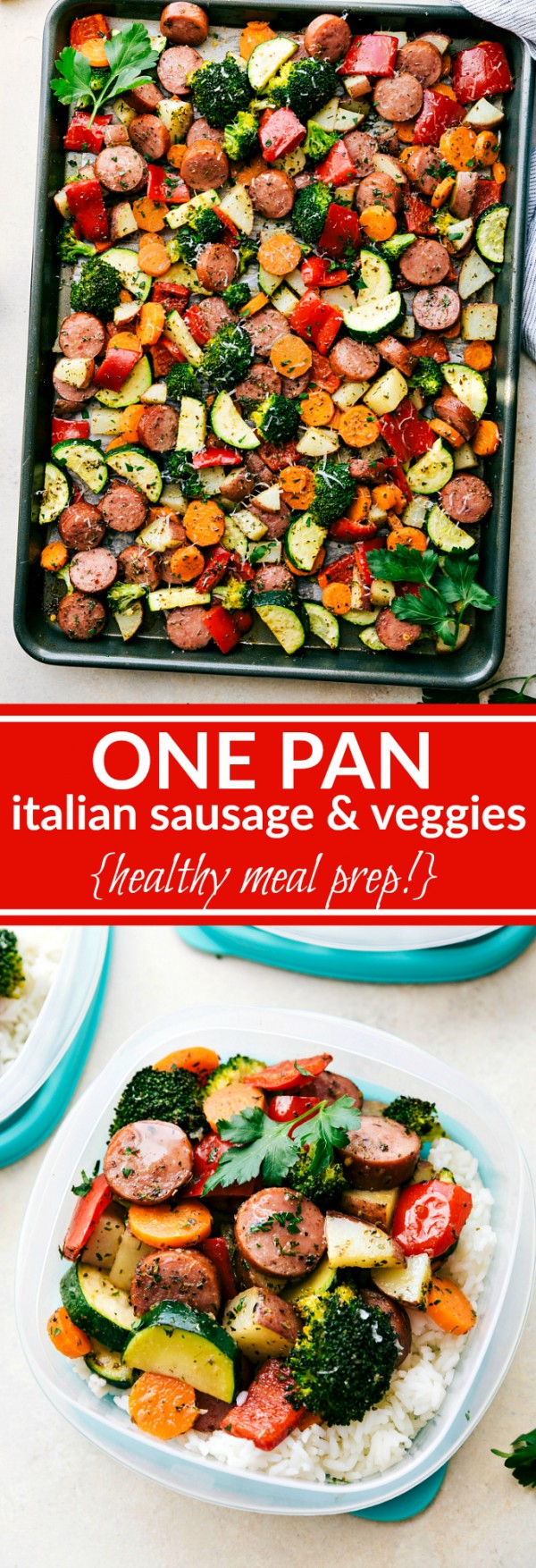 Get the recipe One Pan Italian Sausages and Veggies @recipes_to_go