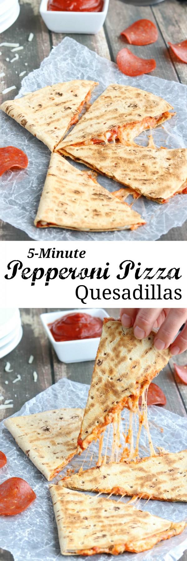 Get the recipe Pepperoni Pizza Quesadillas @recipes_to_go