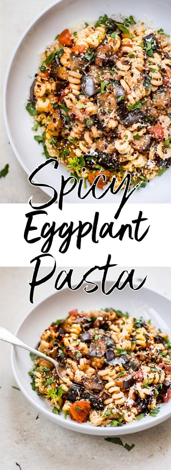 Get the recipe Spicy Eggplant Pasta @recipes_to_go