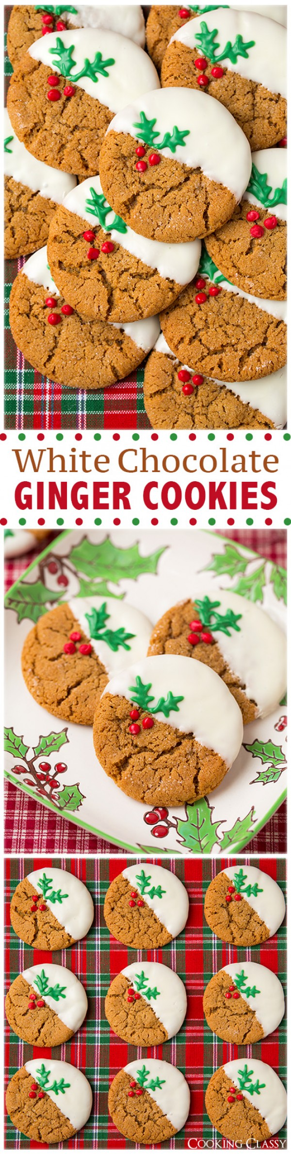 Get the recipe White Chocolate Ginger Cookies @recipes_to_go