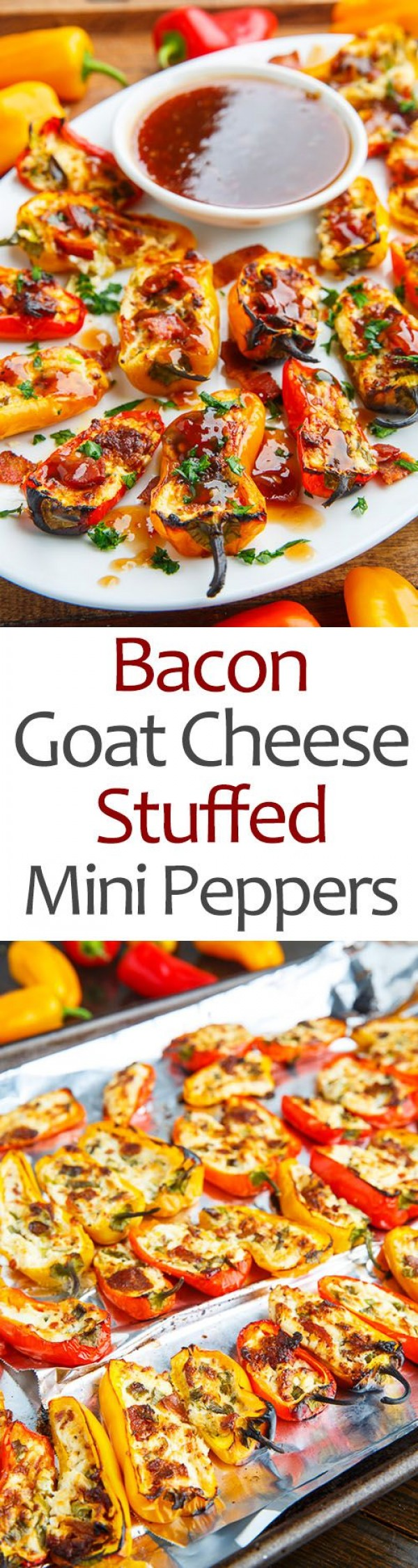 Get the recipe Bacon Goat Cheese Stuffed Mini Peppers @recipes_to_go
