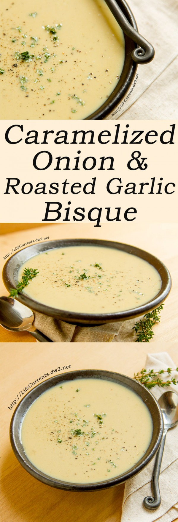 Get the recipe Caramelized Onion and Roasted Garlic Bisque @recipes_to_go