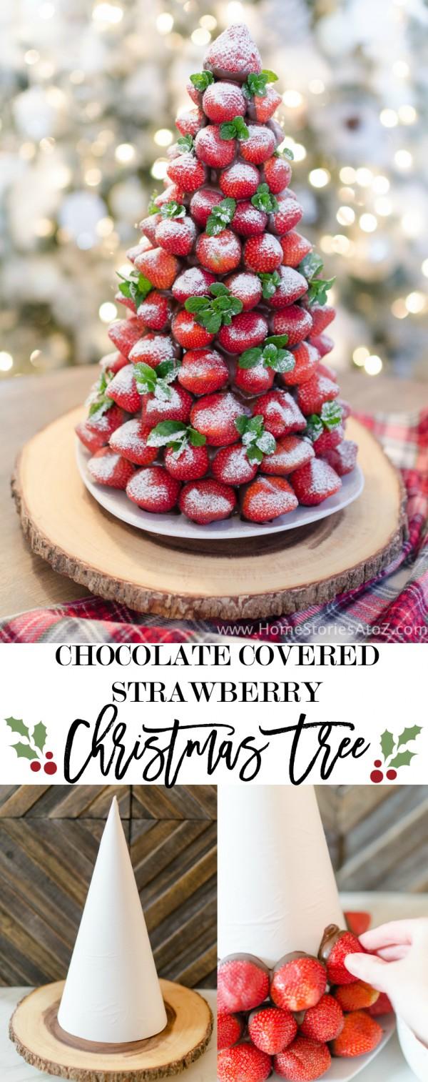 Get the recipe Strawberry Christmas Tree @recipes_to_go