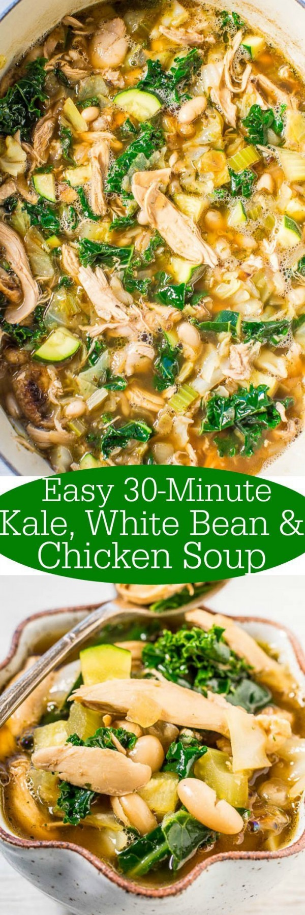 Get the recipe Kale White Bean and Chicken @recipes_to_go