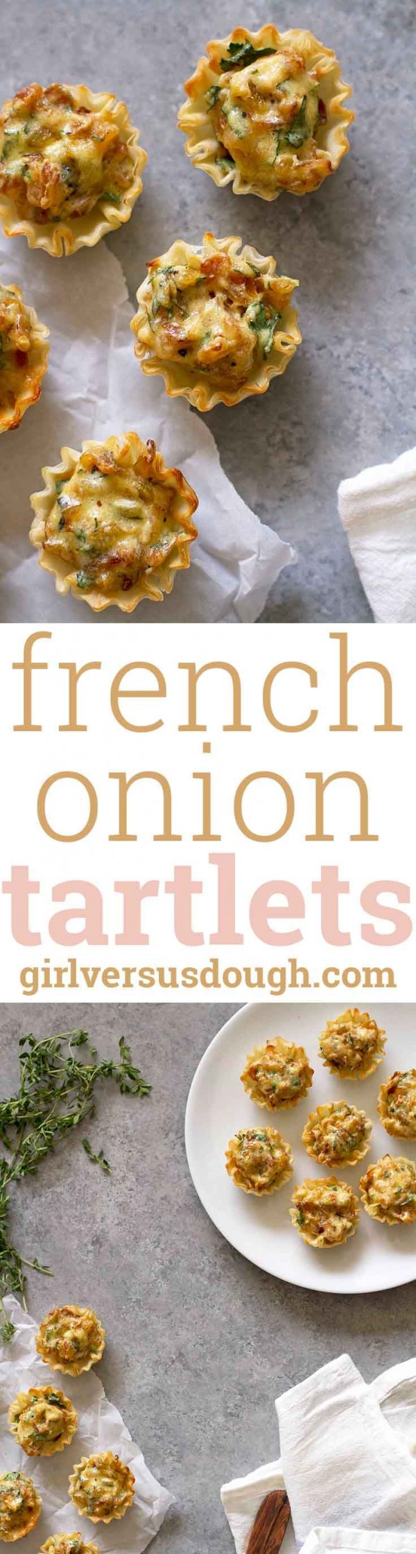 Get the recipe French Onion Tart-lets @recipes_to_go