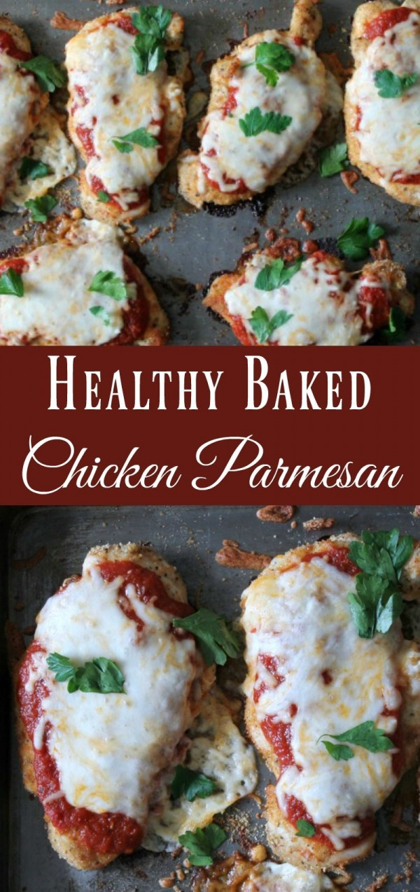 Get the recipe Healthy Baked Chicken Parmesan @recipes_to_go