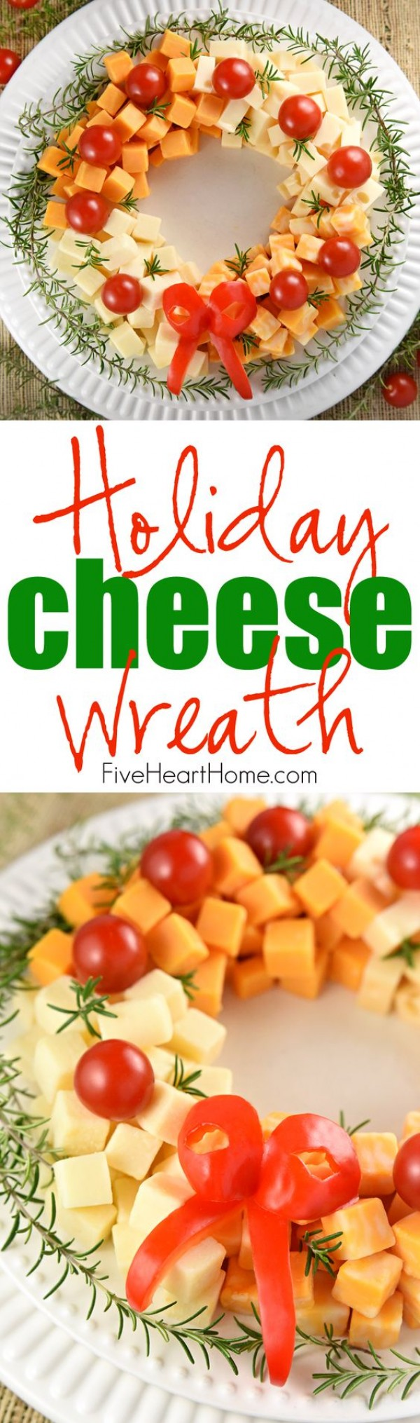 Get the recipe Holiday Cheese Wreath @recipes_to_go