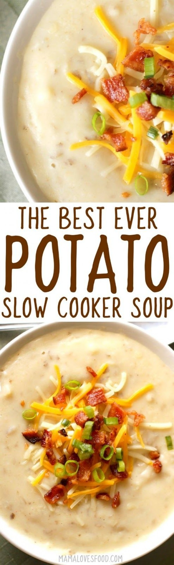 Get the recipe Potato Slow Cooker Soup @recipes_to_go
