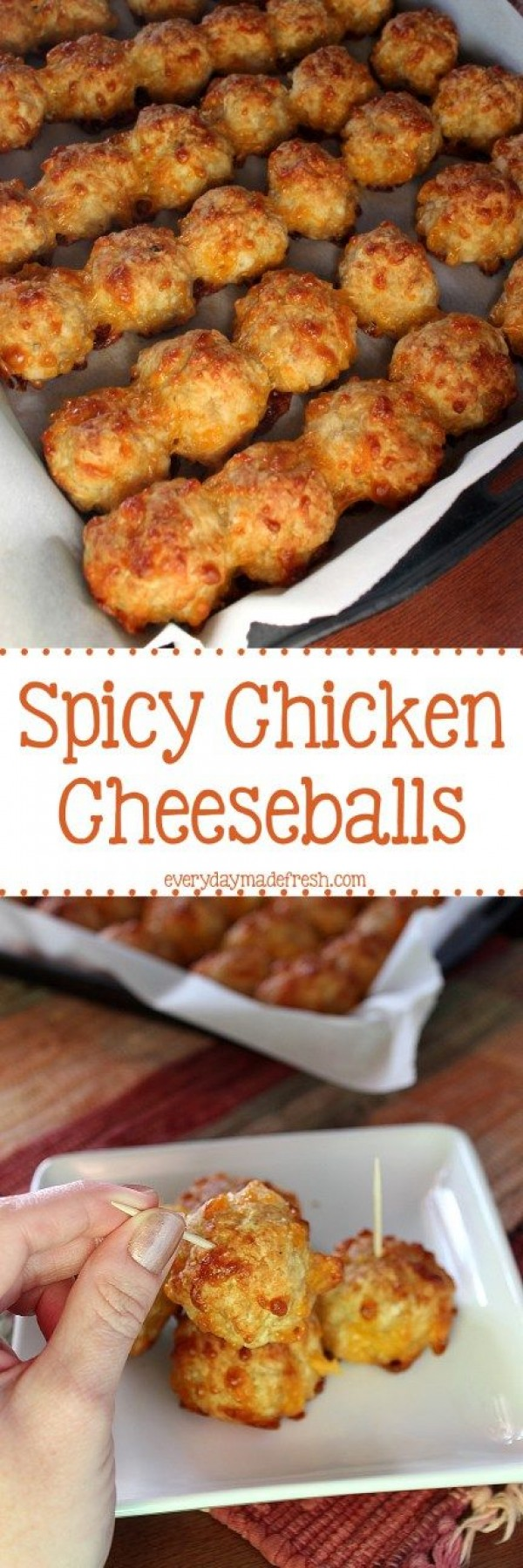 Get the recipe Spicy Chicken Cheese Balls @recipes_to_go