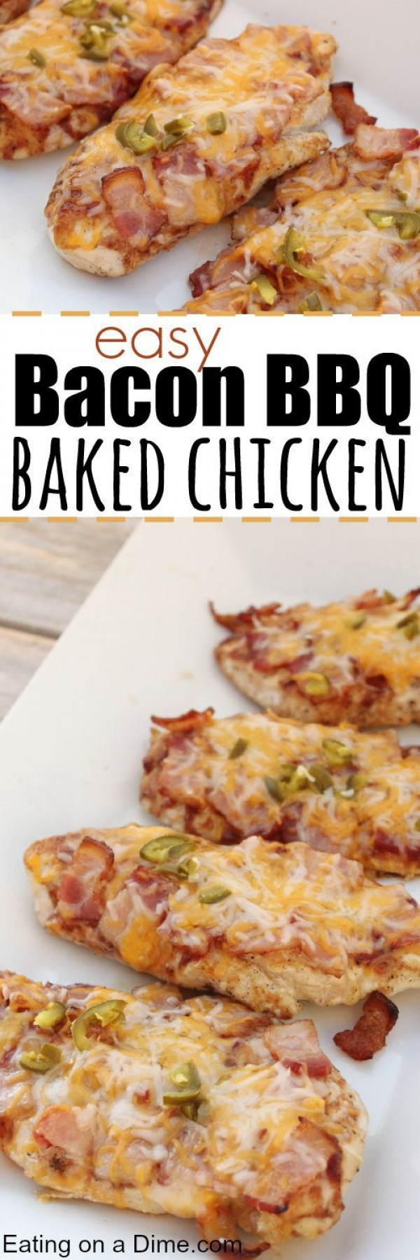 Get the recipe Bacon BBQ Baked Chicken @recipes_to_go