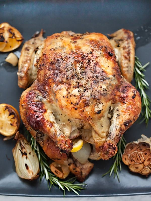 Get the recipe Roasted Chicken with Lemon Rosemary Garlic Butter @recipes_to_go