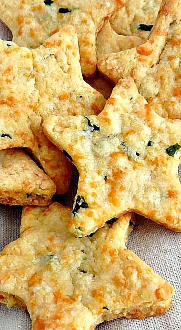 Get the recipe Parmesan Cheddar Basil Bites @recipes_to_go