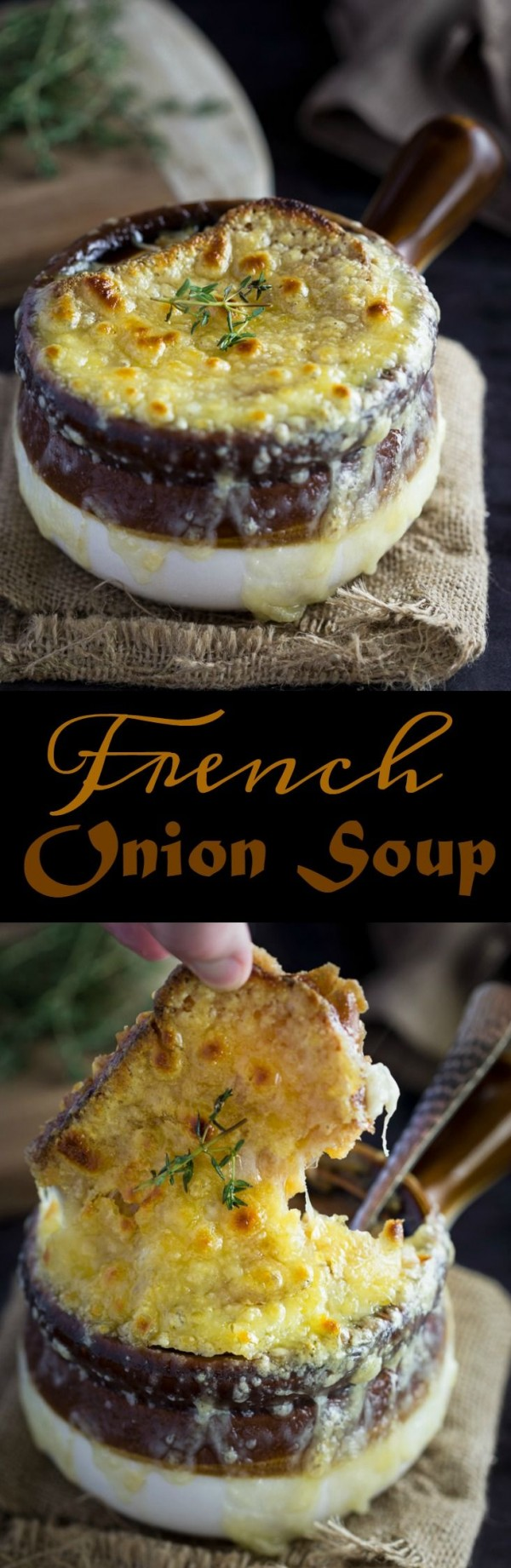 Get the recipe French Onion Soup @recipes_to_go