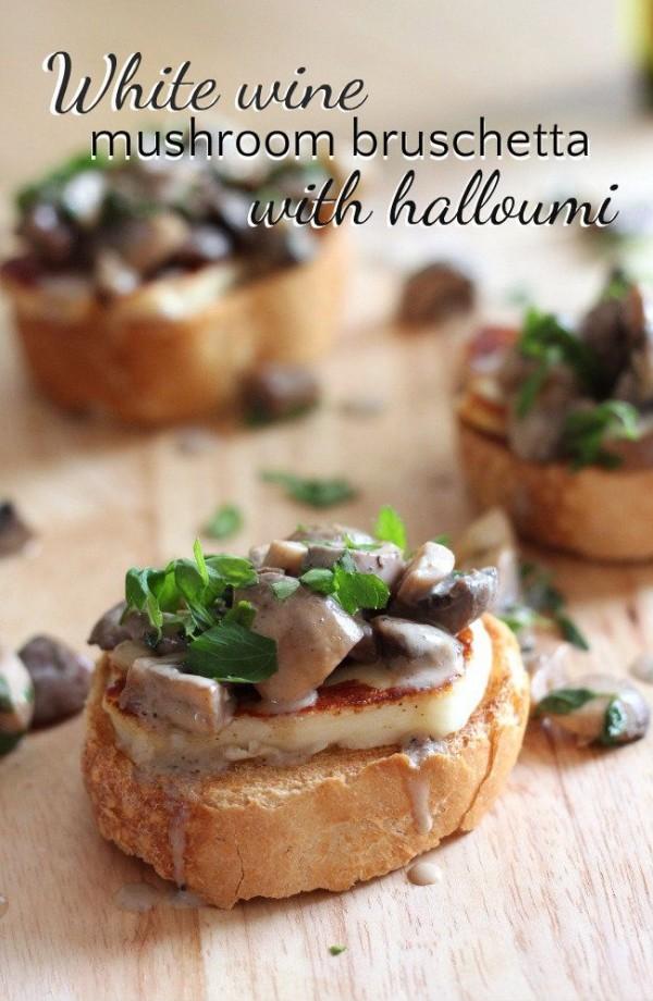 Get the recipe Mushroom Brochette with Halloumi @recipes_to_go