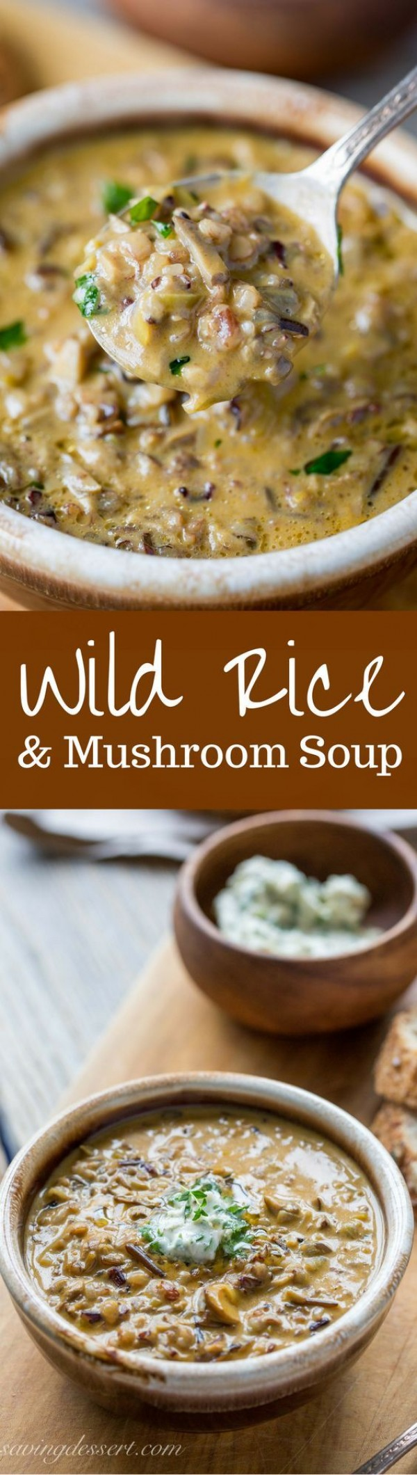 Get the recipe Wild Rice and Mushroom Soup @recipes_to_go