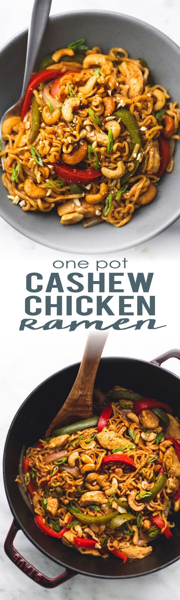 Get the recipe Cashew Chicken Ramen @recipes_to_go