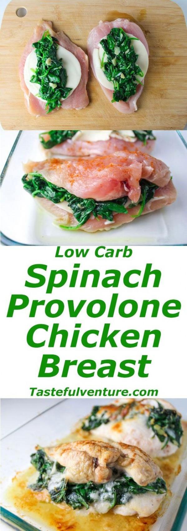 Get the recipe Spinach Provolone Chicken Breast @recipes_to_go