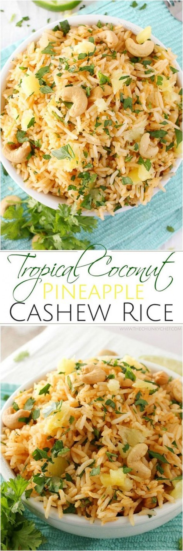 Get the recipe Tropical Coconut Pineapple Cashew Rice @recipes_to_go