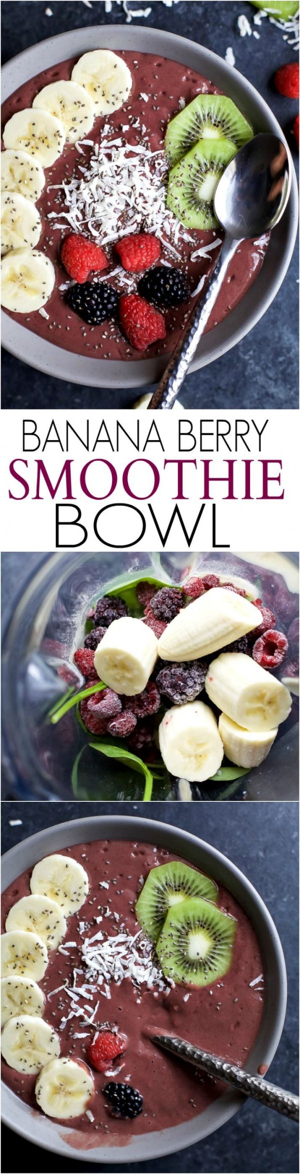 Get the recipe Banana Berry Smoothie Bowl @recipes_to_go
