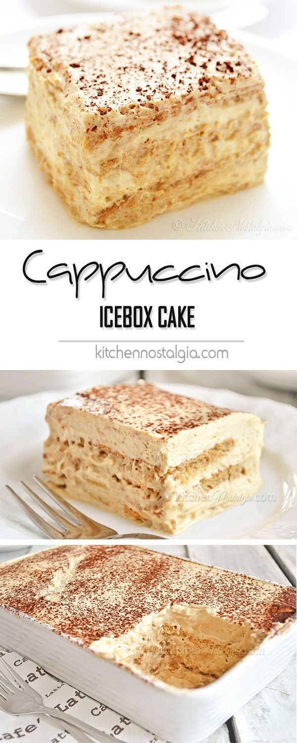 Get the recipe Cappuccino Icebox Cake @recipes_to_go