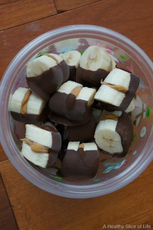 Get the recipe Chocolate Dipped Almond Butter Banana Bites @recipes_to_go