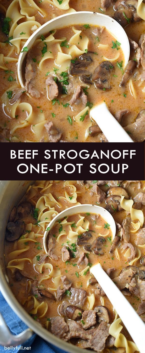 Get the recipe Beef Stroganoff Soup @recipes_to_go