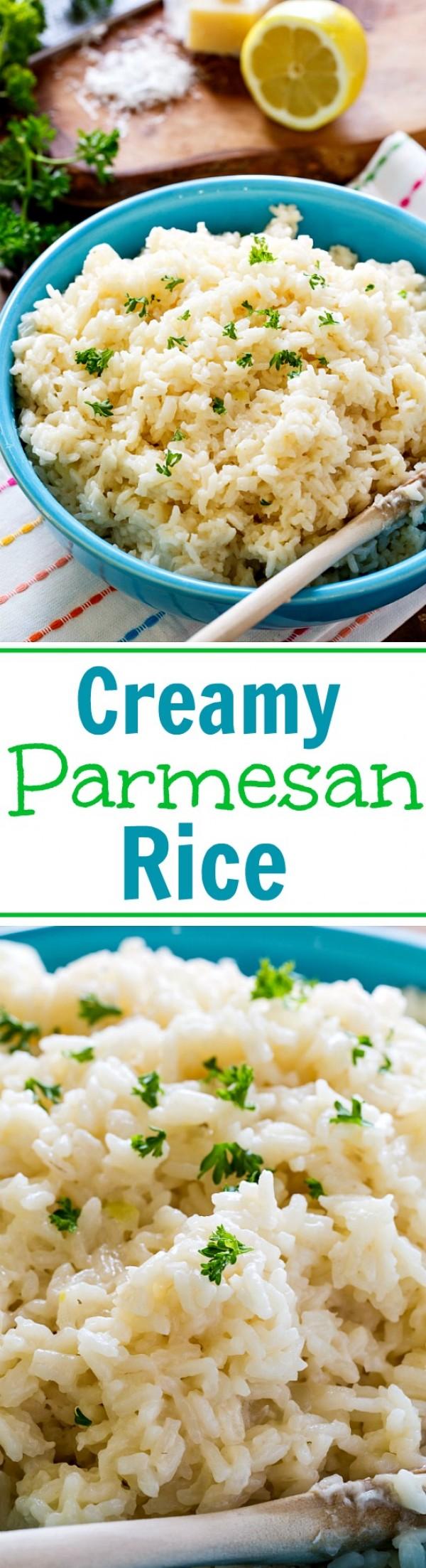 Get the recipe Creamy Parmesan Rice @recipes_to_go