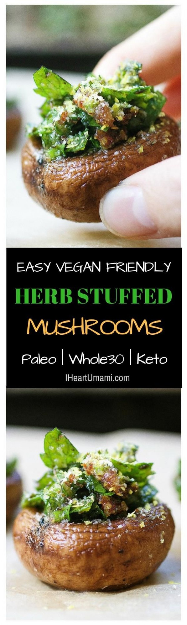 Get the recipe Herbs Stuffed Mushrooms @recipes_to_go