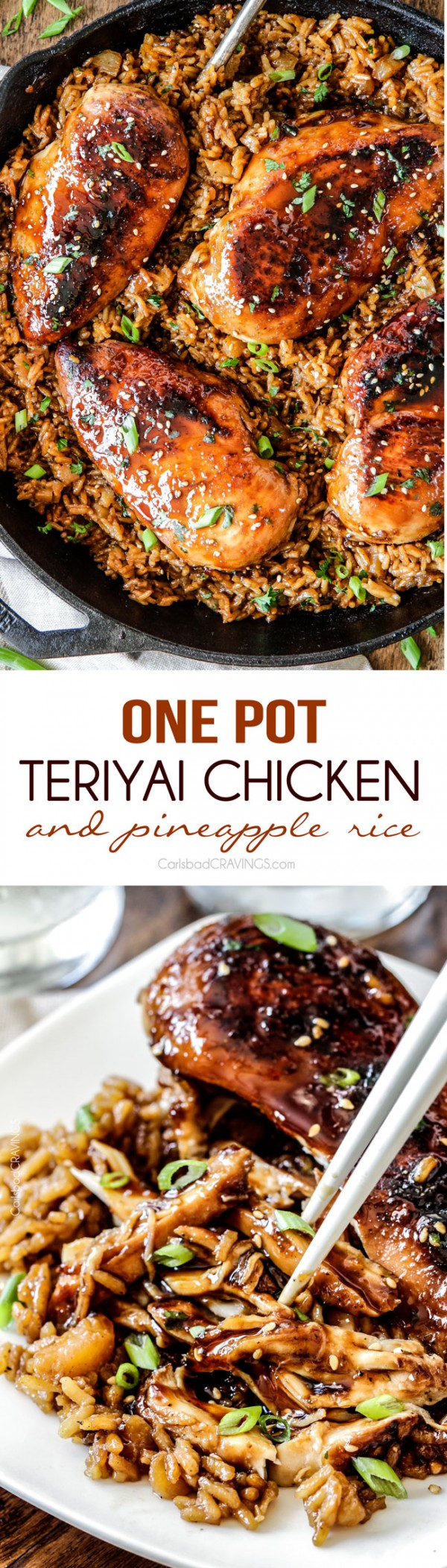 Get the recipe Teriyaki Chicken and Pineapple Rice @recipes_to_go