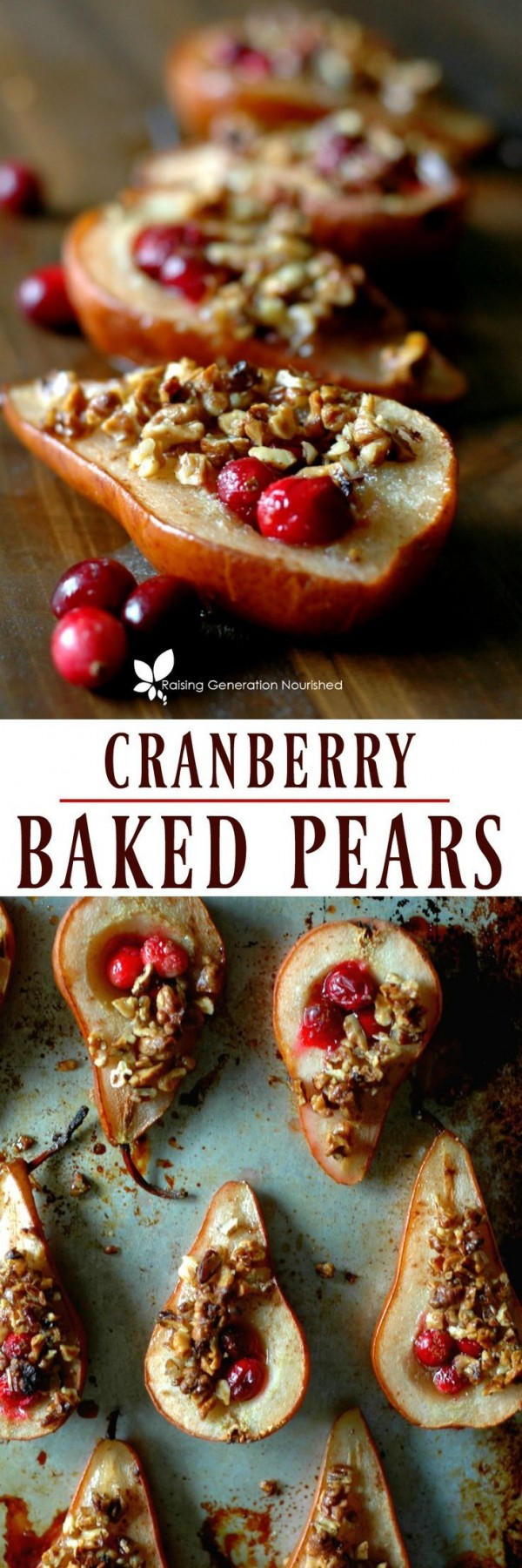 Get the recipe Cranberry Baked Pears @recipes_to_go