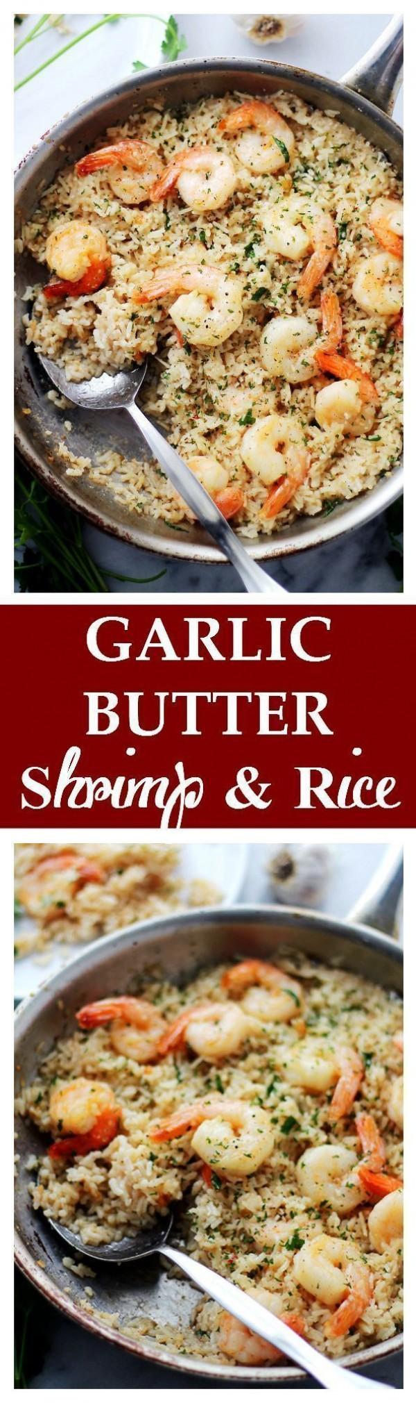 Get the recipe Garlic Butter Shrimp and Rice @recipes_to_go