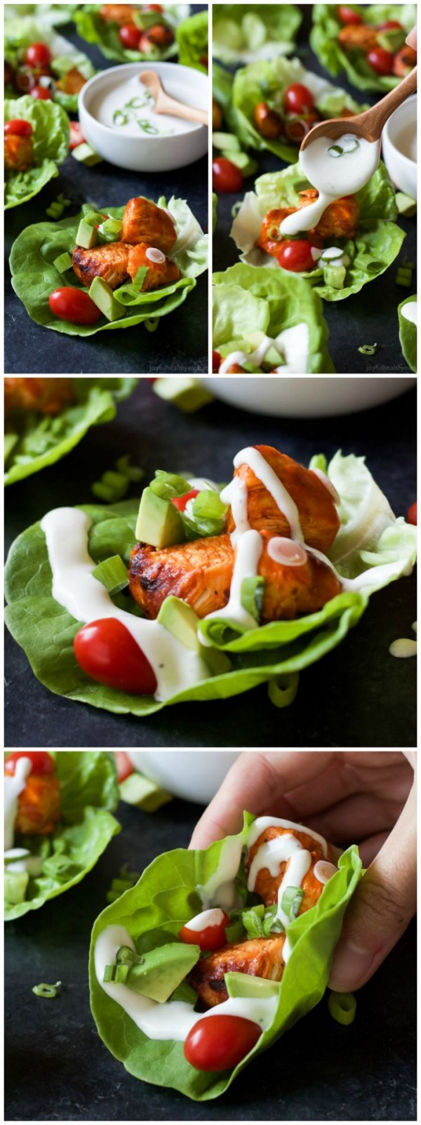 Get the recipe Grilled Buffalo Chicken Lettuce Wraps @recipes_to_go