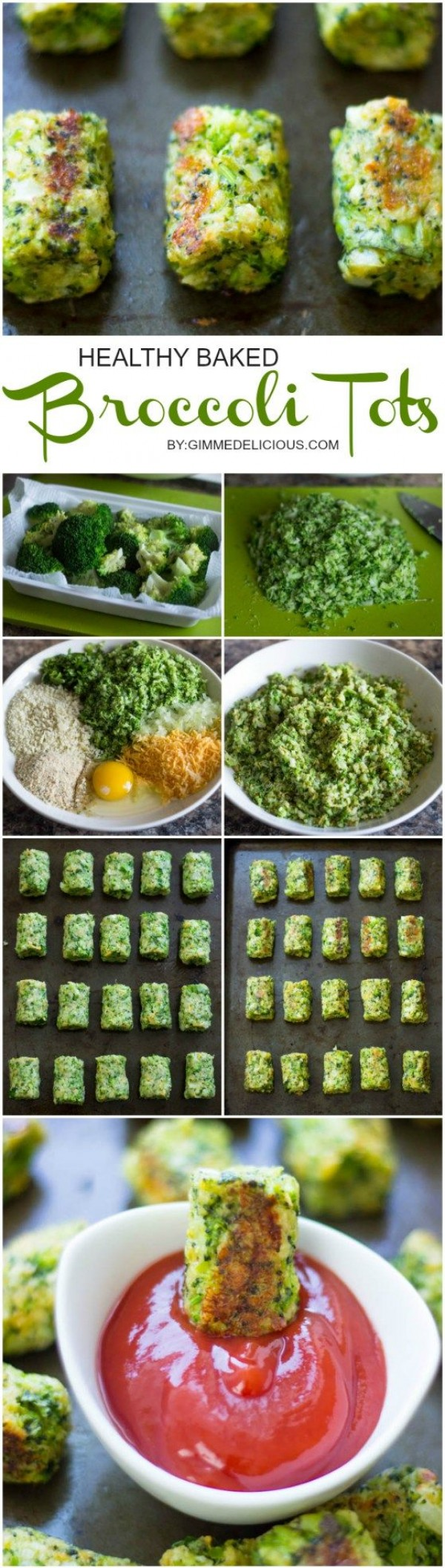Get the recipe Healthy Baked Broccoli Tots @recipes_to_go