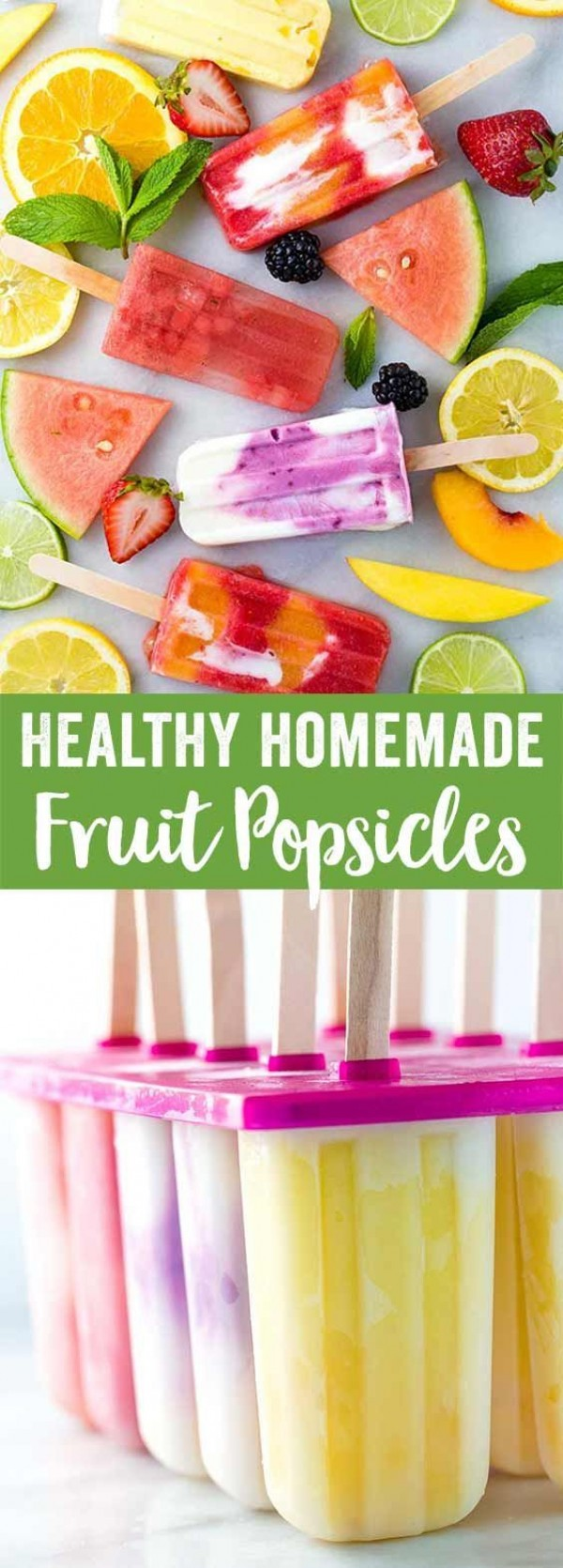 Get the recipe Healthy Homemade Fruit Popsicles @recipes_to_go