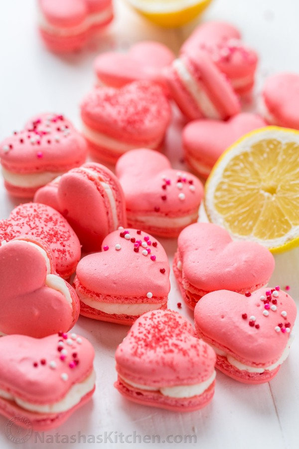 Get the recipe Heart Macarons with Lemon Buttercream @recipes_to_go