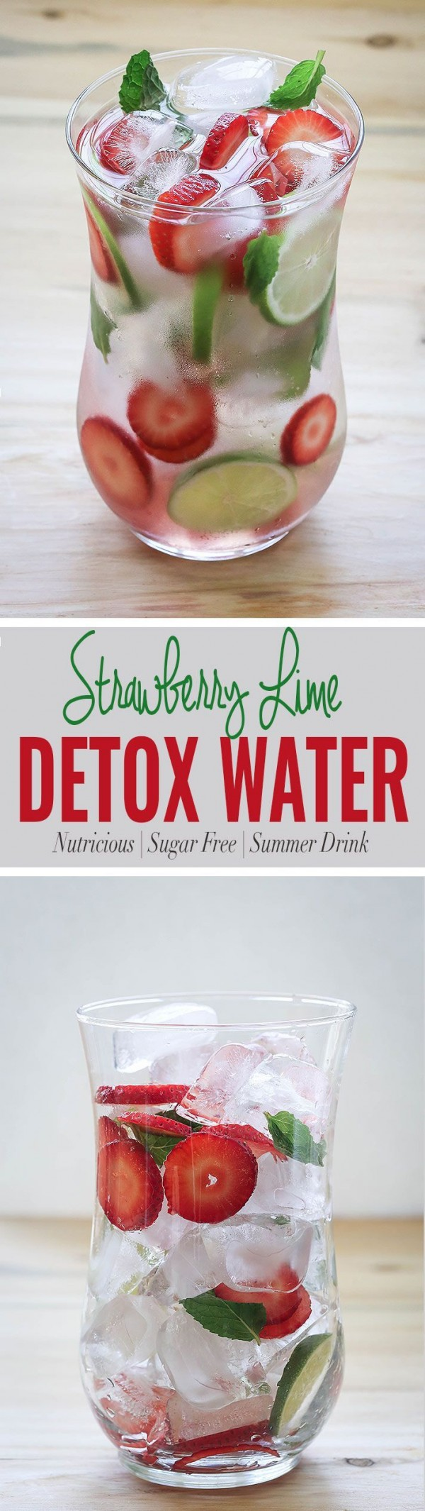Get the recipe Strawberry Lime Detox Water @recipes_to_go