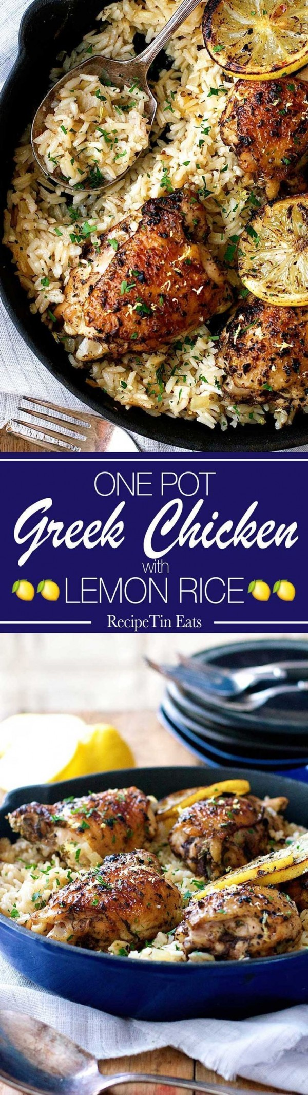 Get the recipe Greek Chicken with Lemon Rice @recipes_to_go