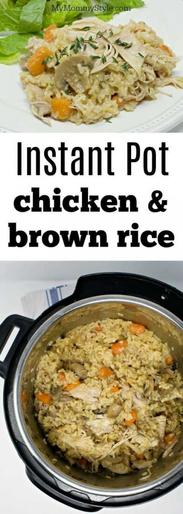Get the recipe Chicken with Brown Rice @recipes_to_go
